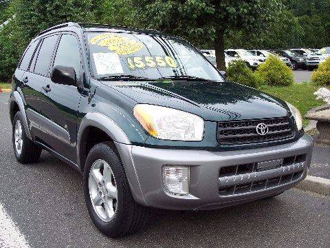 2002 Toyota RAV4 for sale at Motor Pool Operations in Hainesport NJ