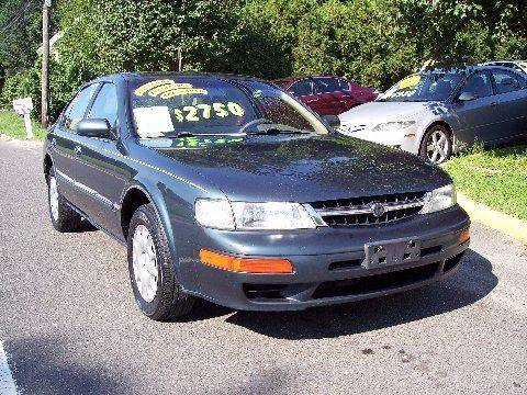 1998 Nissan Maxima for sale at Motor Pool Operations in Hainesport NJ