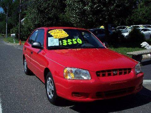 2002 Hyundai Accent for sale at Motor Pool Operations in Hainesport NJ