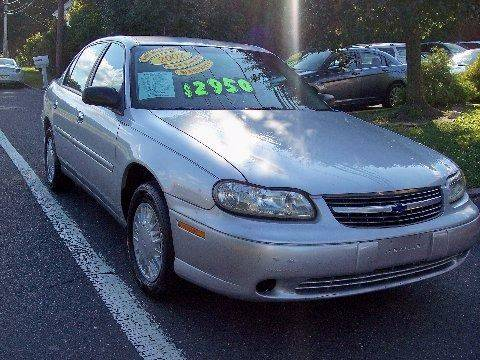 2002 Chevrolet Malibu for sale at Motor Pool Operations in Hainesport NJ