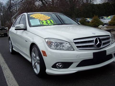 2010 Mercedes-Benz C-Class for sale at Motor Pool Operations in Hainesport NJ