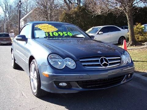 2006 Mercedes-Benz CLK for sale at Motor Pool Operations in Hainesport NJ