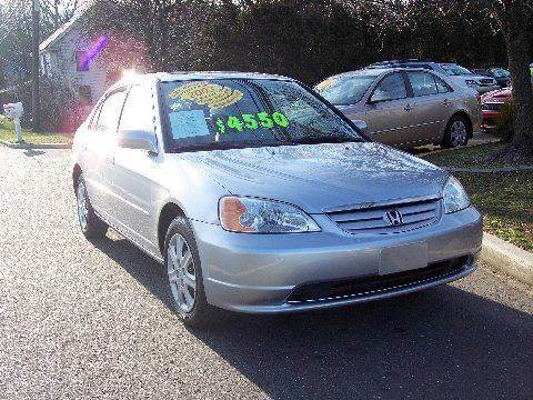 2003 Honda Civic for sale at Motor Pool Operations in Hainesport NJ