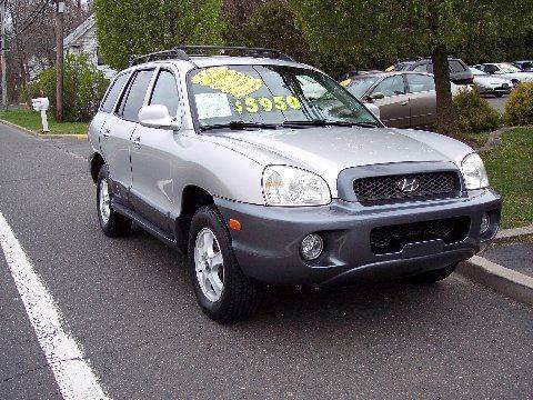 2004 Hyundai Santa Fe for sale at Motor Pool Operations in Hainesport NJ
