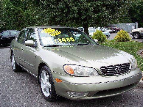 2002 Infiniti I35 for sale at Motor Pool Operations in Hainesport NJ