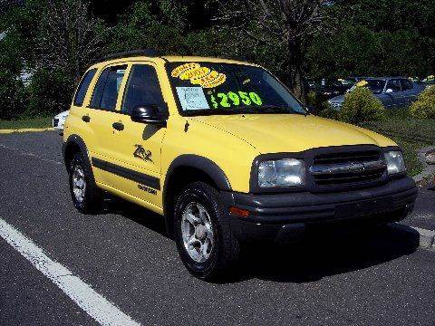 2003 Chevrolet Tracker for sale at Motor Pool Operations in Hainesport NJ