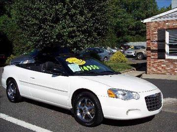 2005 Chrysler Sebring for sale at Motor Pool Operations in Hainesport NJ