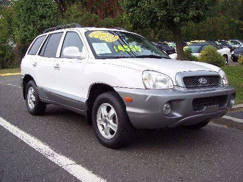 2003 Hyundai Santa Fe for sale at Motor Pool Operations in Hainesport NJ