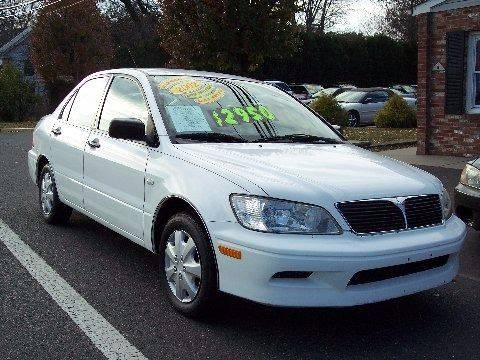 2002 Mitsubishi Lancer for sale at Motor Pool Operations in Hainesport NJ