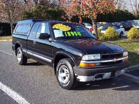2003 Chevrolet S-10 for sale at Motor Pool Operations in Hainesport NJ