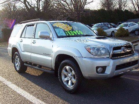 2006 Toyota 4runner Sport Edition 4dr Suv 4wd W V8 In Hainesport Nj