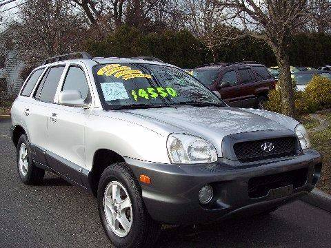 2001 Hyundai Santa Fe for sale at Motor Pool Operations in Hainesport NJ
