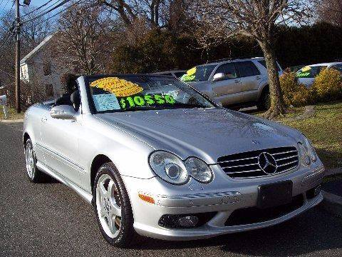 2004 Mercedes-Benz CLK for sale at Motor Pool Operations in Hainesport NJ