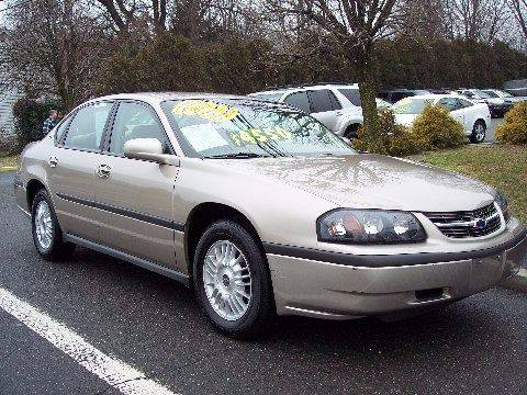2001 Chevrolet Impala for sale at Motor Pool Operations in Hainesport NJ