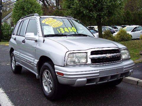 2002 Chevrolet Tracker for sale at Motor Pool Operations in Hainesport NJ