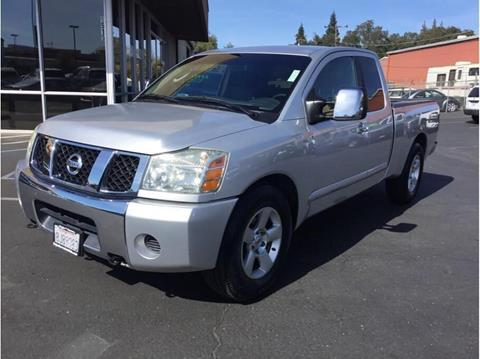 2005 Nissan Titan for sale in Folsom, CA