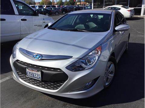 2012 Hyundai Sonata Hybrid for sale in Folsom, CA