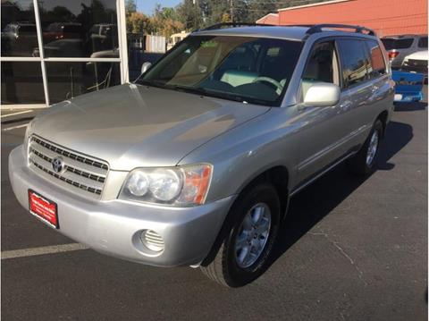 2001 Toyota Highlander for sale in Folsom, CA