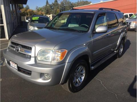 2005 Toyota Sequoia for sale in Folsom, CA