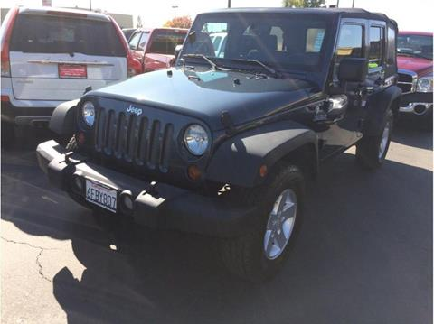 2008 Jeep Wrangler Unlimited for sale in Folsom, CA
