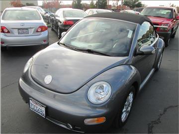 2005 Volkswagen New Beetle for sale in Folsom, CA