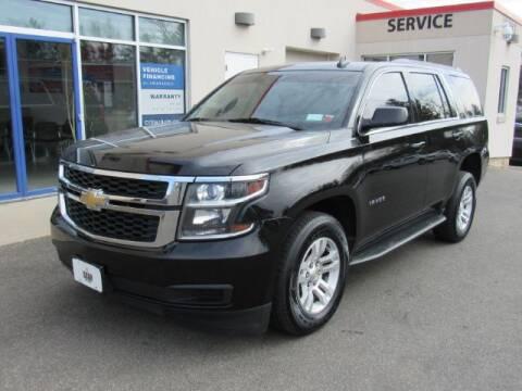2016 Chevrolet Tahoe LT for sale at STAR AUTO SALES in Meriden CT