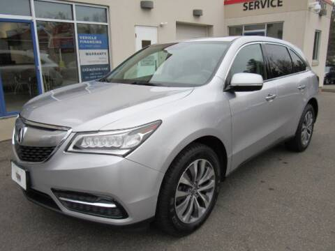 2014 Acura MDX SH-AWD w/Tech for sale at STAR AUTO SALES in Meriden CT