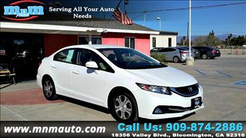 2013 Honda Civic for sale in Bloomington, CA