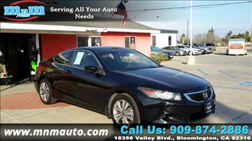 2009 Honda Accord for sale in Bloomington, CA