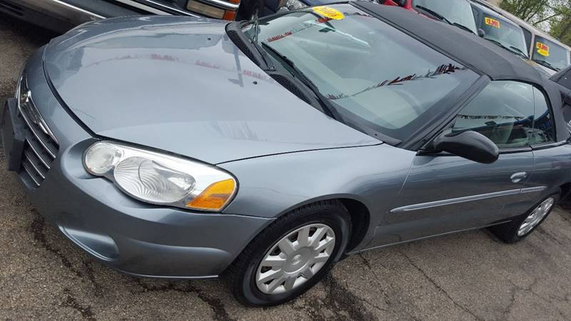 2006 Chrysler Sebring 2dr Convertible In Chicago Il