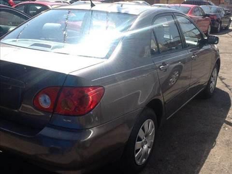 2003 Toyota Corolla for sale at JIREH AUTO SALES in Chicago IL