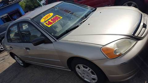 2001 honda civic for sale in illinois for Honda civic for sale in chicago