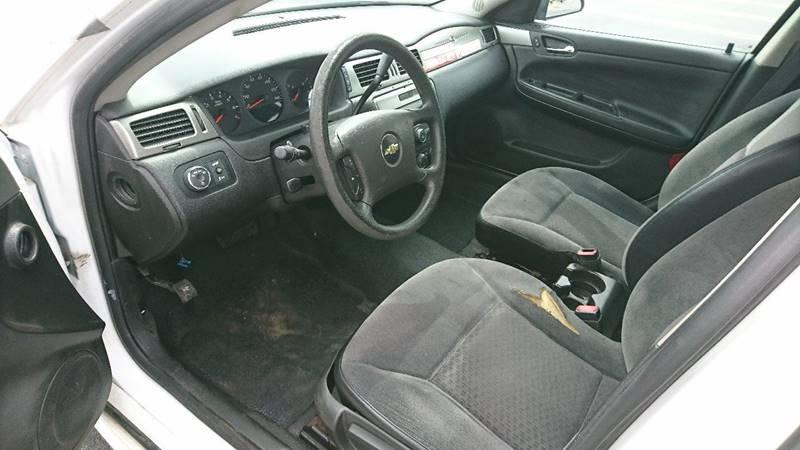 2012 Chevrolet Impala Police 4dr Sedan w/3FL - Elmwood Park IL
