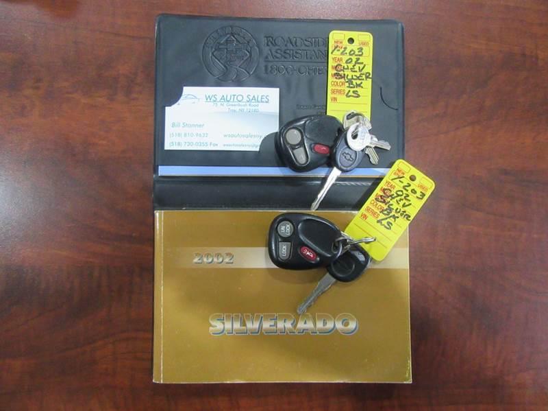 2002 Chevrolet Silverado 1500 4dr Extended Cab LS 4WD SB - Troy NY