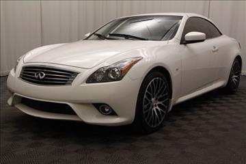 2014 Infiniti Q60 Convertible for sale in Cleveland, OH