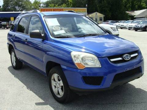 2009 Kia Sportage for sale at PREMIER MOTORS OF PEARLAND in Pearland TX