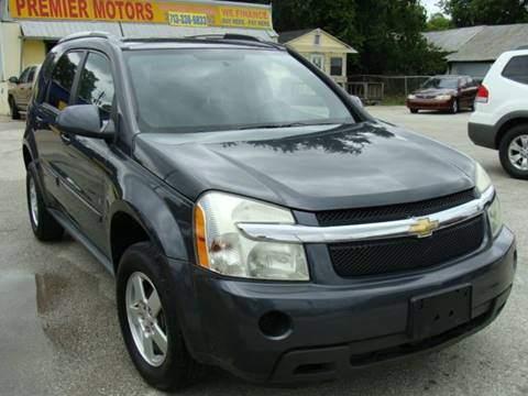 2009 Chevrolet Equinox for sale at PREMIER MOTORS OF PEARLAND in Pearland TX