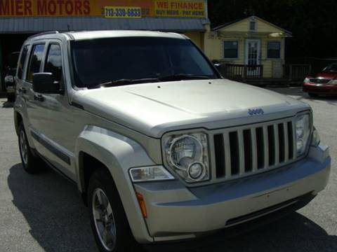 2008 Jeep Liberty for sale at PREMIER MOTORS OF PEARLAND in Pearland TX