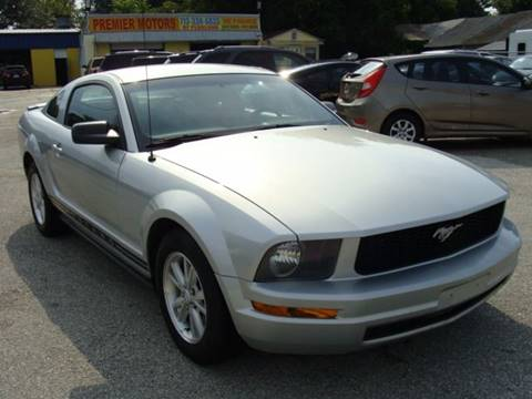 2008 Ford Mustang for sale at PREMIER MOTORS OF PEARLAND in Pearland TX