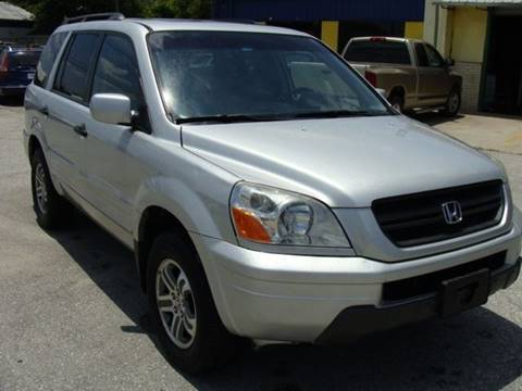 2005 Honda Pilot for sale at PREMIER MOTORS OF PEARLAND in Pearland TX