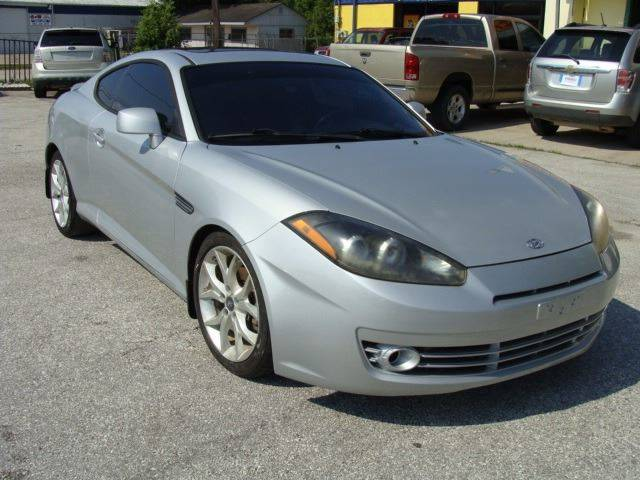 2008 Hyundai Tiburon GT Limited 2dr Hatchback   Pearland TX