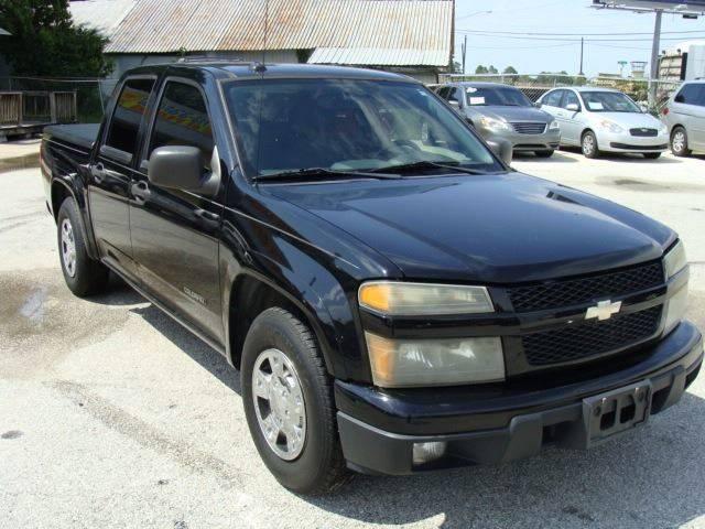 2004 Chevrolet Colorado 4dr Crew Cab Zq8 Ls Rwd Sb In Pearland Tx