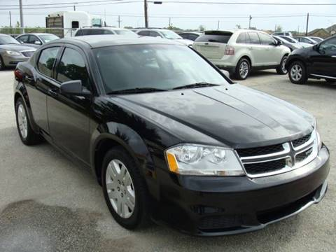 2012 Dodge Avenger for sale at PREMIER MOTORS OF PEARLAND in Pearland TX