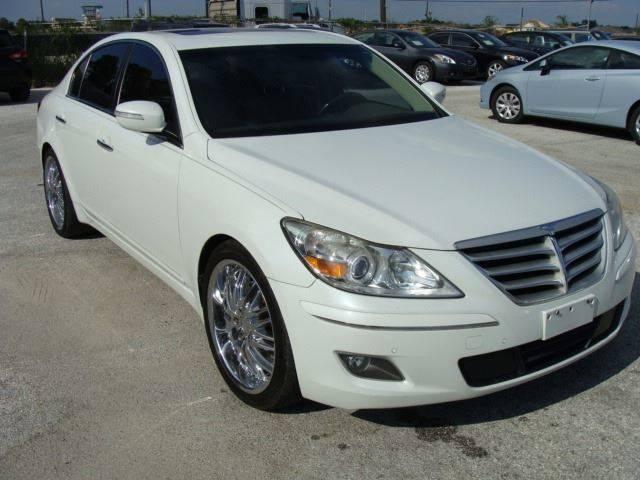 2010 Hyundai Genesis for sale at PREMIER MOTORS OF PEARLAND in Pearland TX