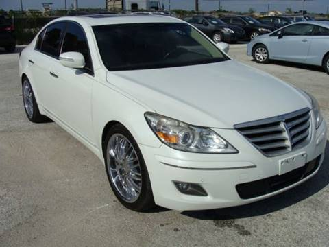 2010 Hyundai Genesis for sale at PREMIER MOTORS OF PEARLAND in Pearland TX