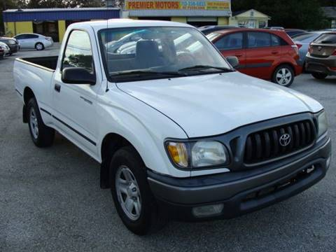 2001 Toyota Tacoma for sale at PREMIER MOTORS OF PEARLAND in Pearland TX