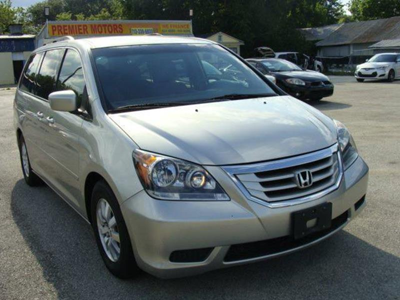 2008 Honda Odyssey for sale at PREMIER MOTORS OF PEARLAND in Pearland TX