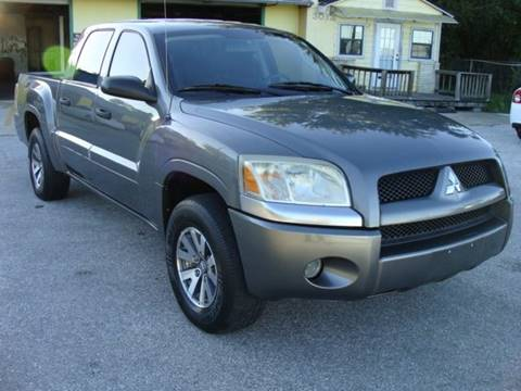2008 Mitsubishi Raider for sale at PREMIER MOTORS OF PEARLAND in Pearland TX