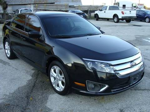 2012 Ford Fusion for sale at PREMIER MOTORS OF PEARLAND in Pearland TX