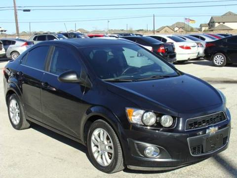2013 Chevrolet Sonic for sale at PREMIER MOTORS OF PEARLAND in Pearland TX